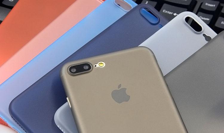 coques d'iPhone très fines