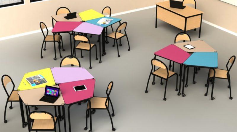 image intérieur d'une salle de classe